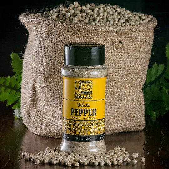 White Pepper Powder Bottle