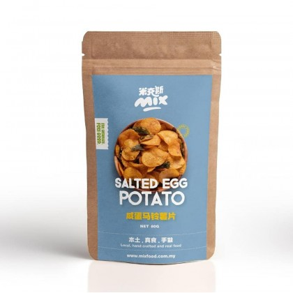 Salted Egg Potato Chips 80g