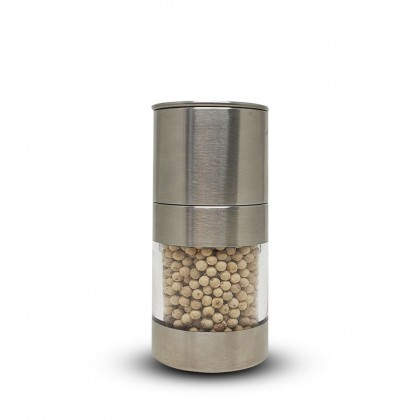White Peppercorn S/Steel Grinder