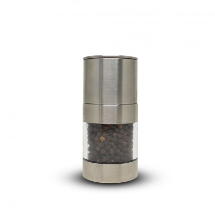 Black Peppercorn S/Steel Grinder