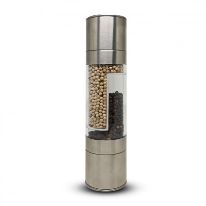 2 in 1 S/Steel Pepper Grinder